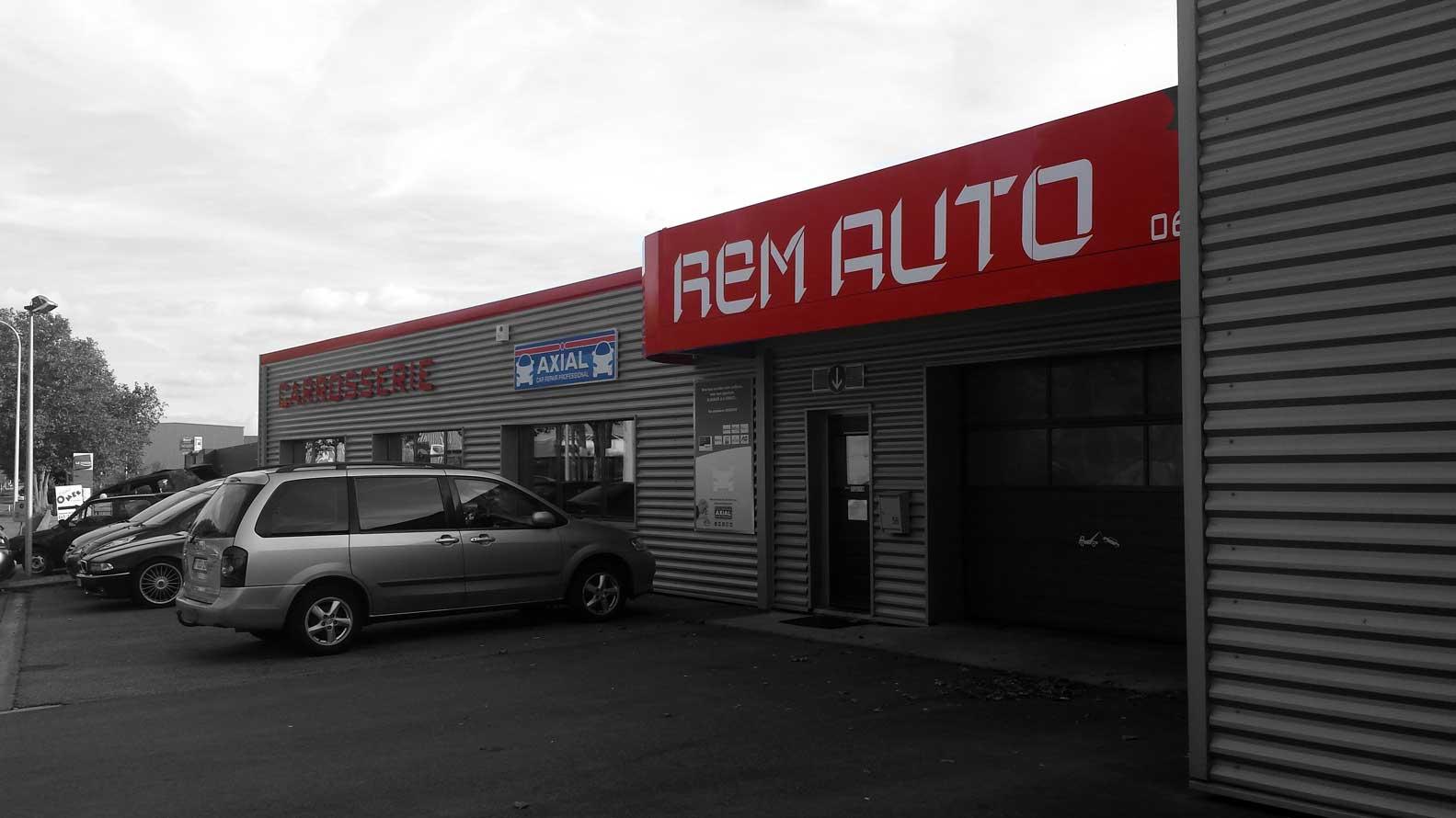 Rem Auto carrossier, garage, mécanique à Nivelles