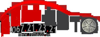 Logo Rem Auto, carrosserie et mécanique à Nivelles
