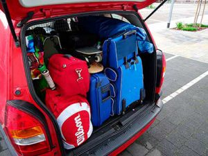 Bagages coffre voiture
